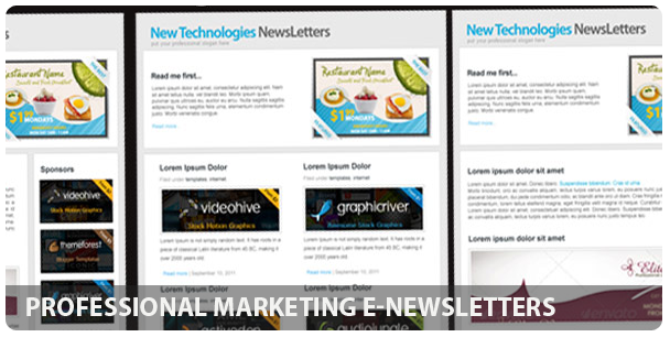 Professional Business E-Magazine newsletters