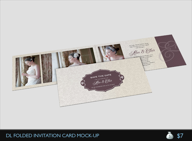 Wedding Invitation Card V3