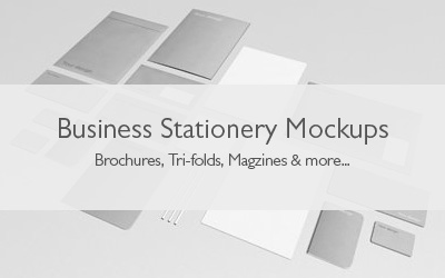 Business Stationery Mockups