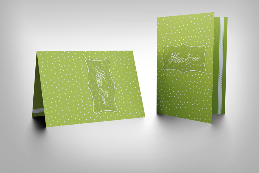Invitation And Greeting Card Mockup V1