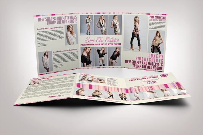 Fashion Tri-Fold Brochure Template