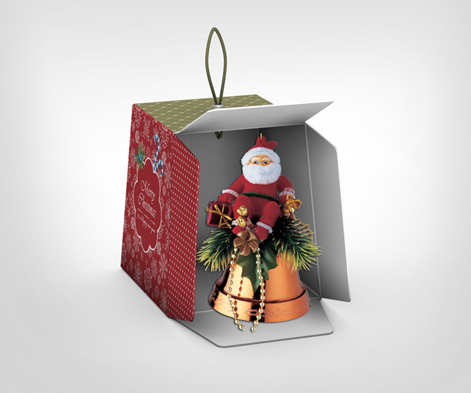 Christmas Box Mock-Up