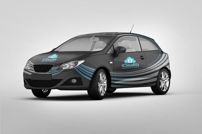 Car Branding Mock-up