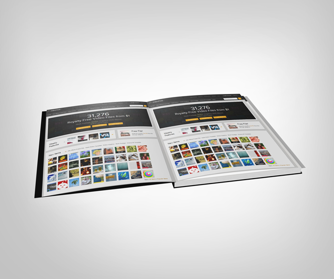 Catalog Display Mock-up