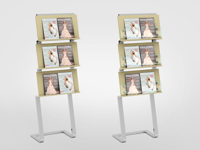 Professional Magazine Display Mock-up V1