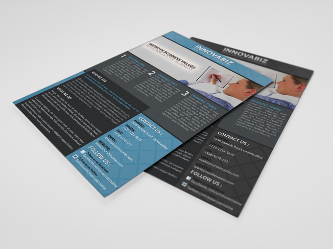 innovation Corporate PSD Flyer