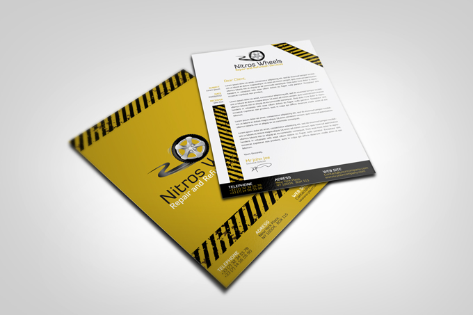 Cars Wheels Service Corporate Identity