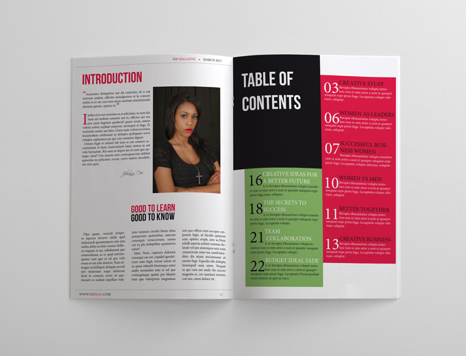 24 Pages Business Magazine Template