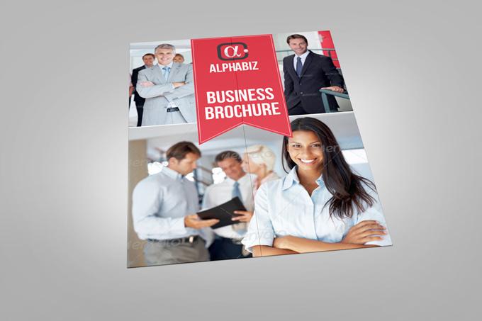 Gate Fold Brochure Mock-Up