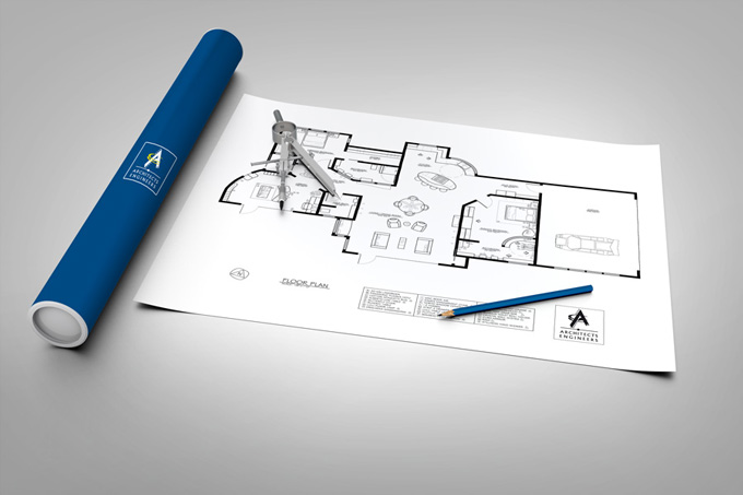 Engineering Architectural Design Mock Up Graphicriver