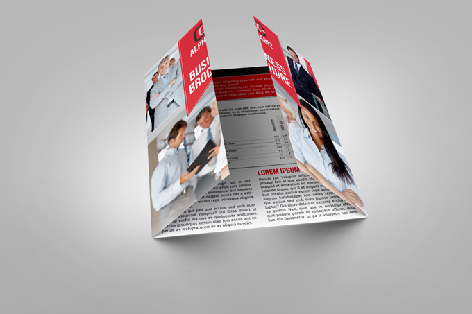 Gate Fold Brochure MockUp  Graphicriver