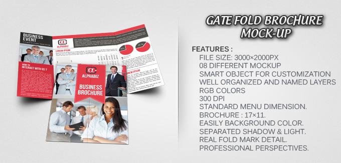business brochure gate fold template alphabiz template. Black Bedroom Furniture Sets. Home Design Ideas