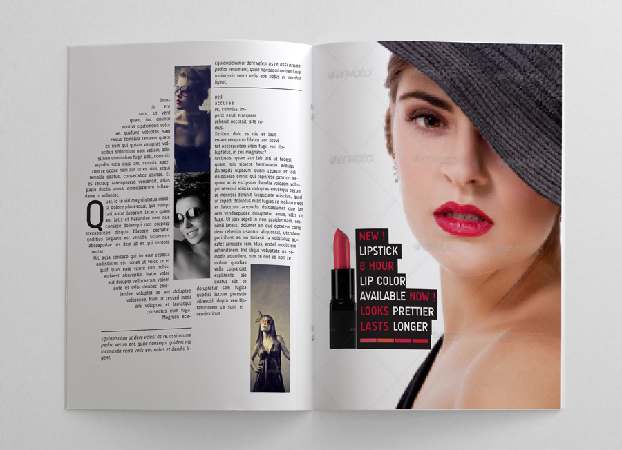 Magazine Templates For Pages Woman39s Magazine Template 24 Pages Graphicriver Magazines