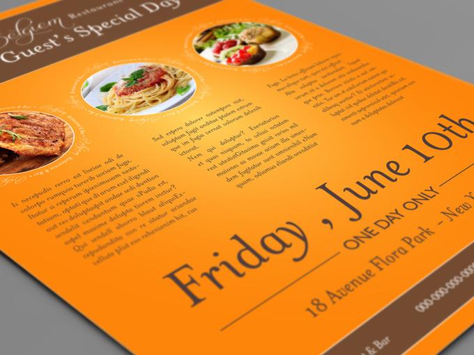 restaurant flyer template restaurant flyer template restaurant flyer