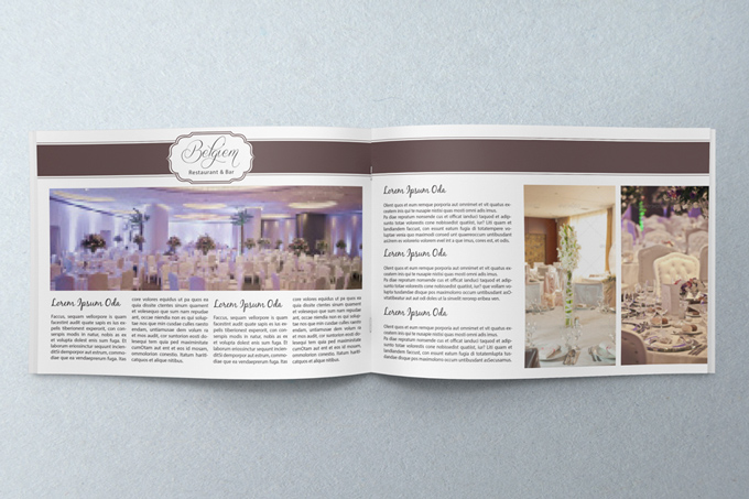 Wedding Catalogue Template