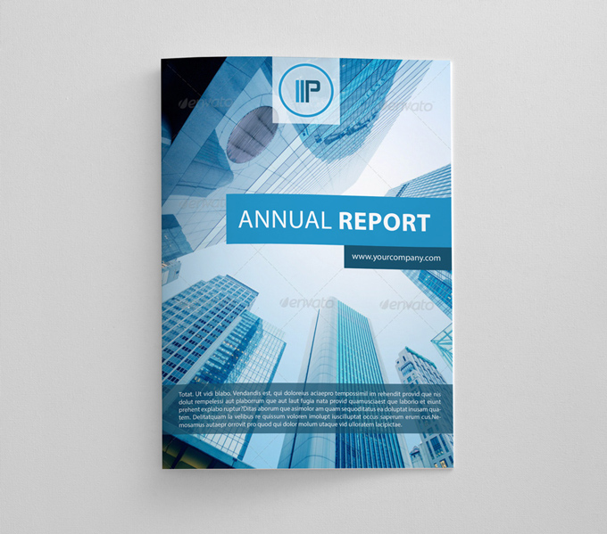Annual Report Brochure | Graphicriver Print Templates