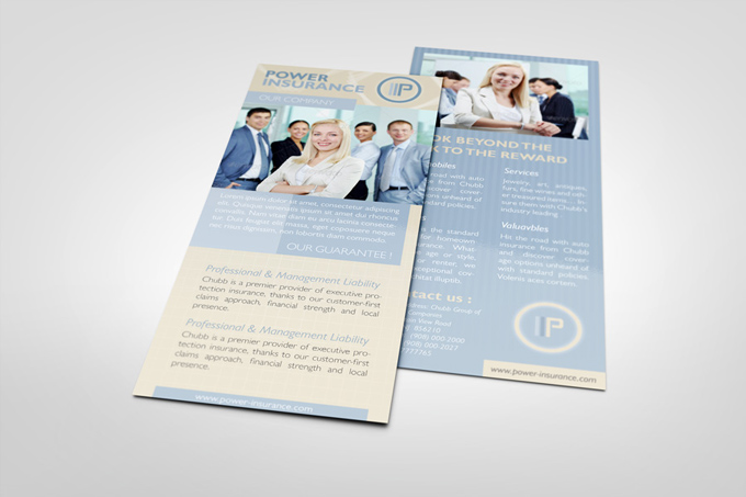 Business Rack Card Template  Graphicriver Print Templates