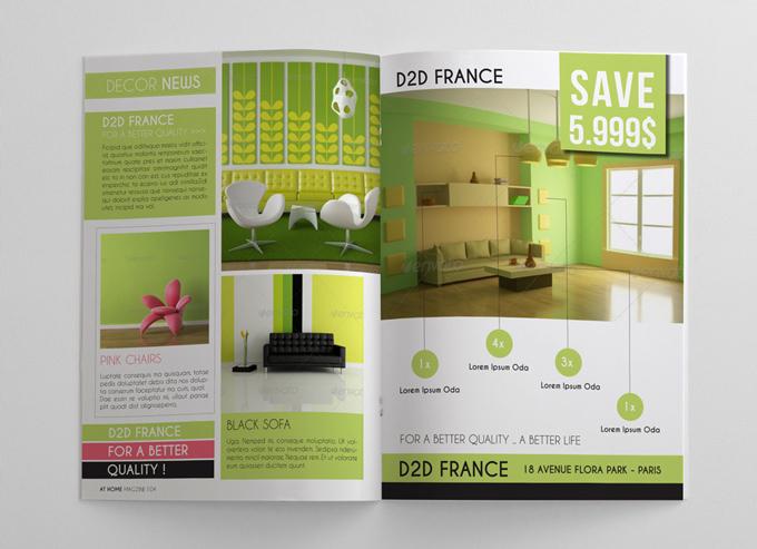 Interior Design Magazine Template Graphicriver Print Templates
