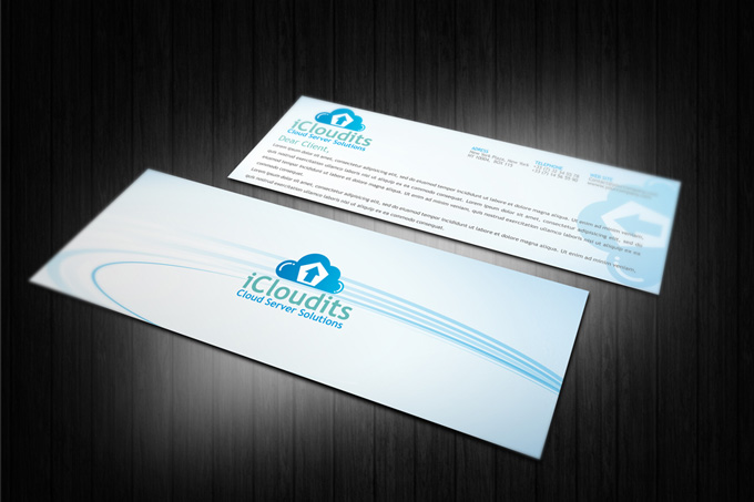 Cloud Hosting Service Corporate Identity