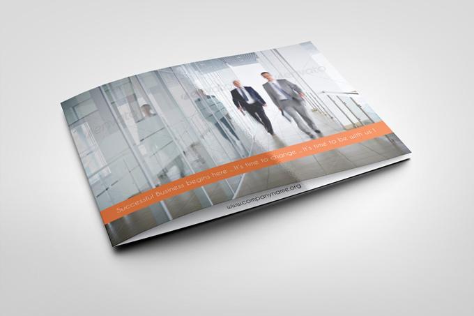 Corporate BiFold Brochure Template Graphicriver Print Templates - Bi fold brochure templates