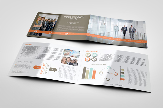 Corporate bi fold brochure template graphicriver print for Corporate bi fold brochure template