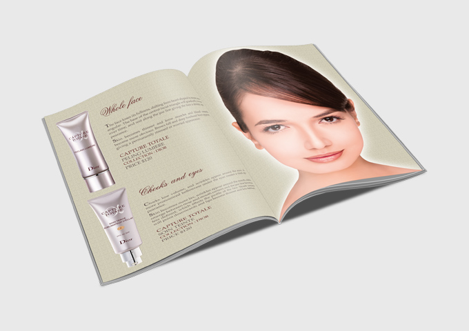Cosmetic Products Catalog