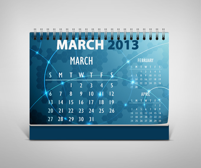 Table Calendar Mockup : Desk calendar mock up graphicriver product ups