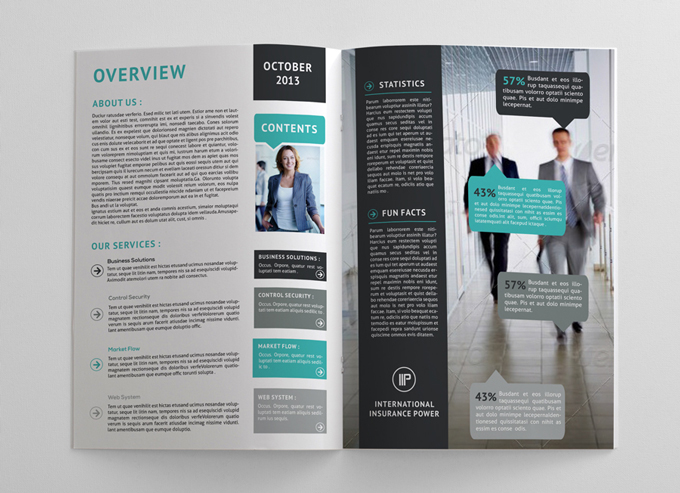 Annual Report Brochure  Graphicriver Print Templates