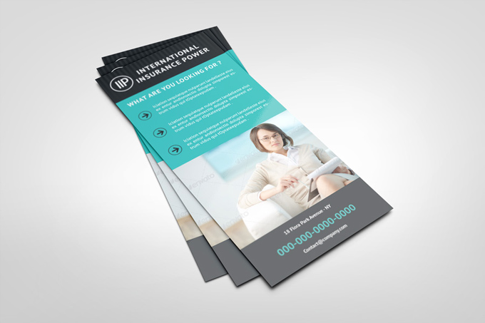 Business Rack Card Template | Graphicriver Print Templates