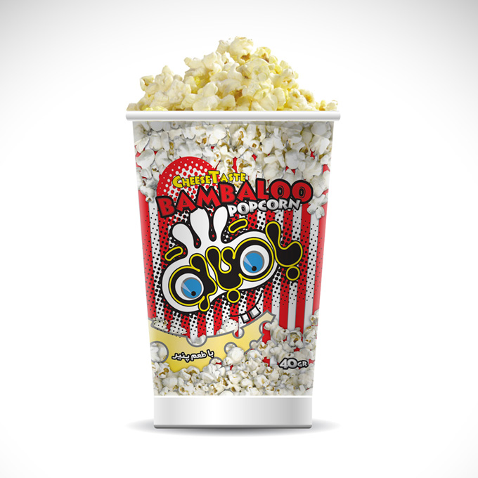 Popcorn Buckets Mock-up