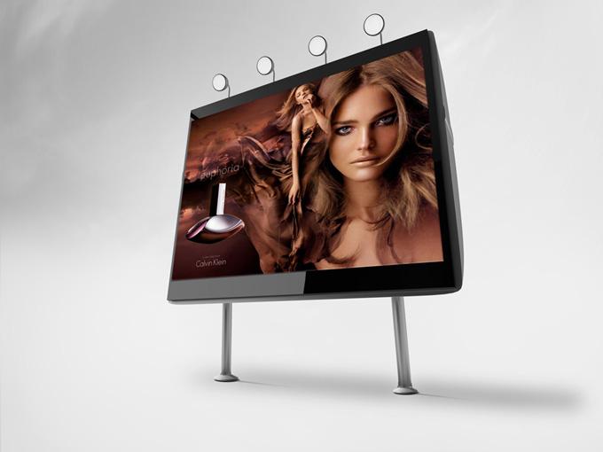 Professional 3D Billboards Mock-up