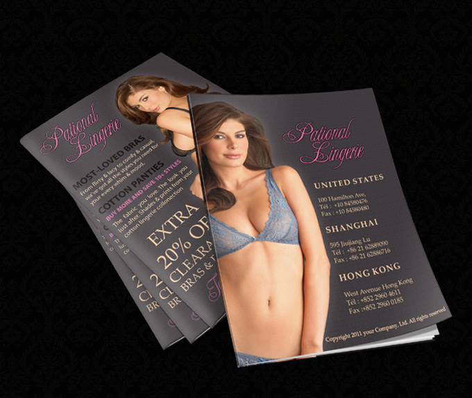lingerie catalogue