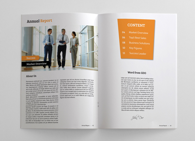 02_Clean_And_Simple_Annual_Report_Brochure