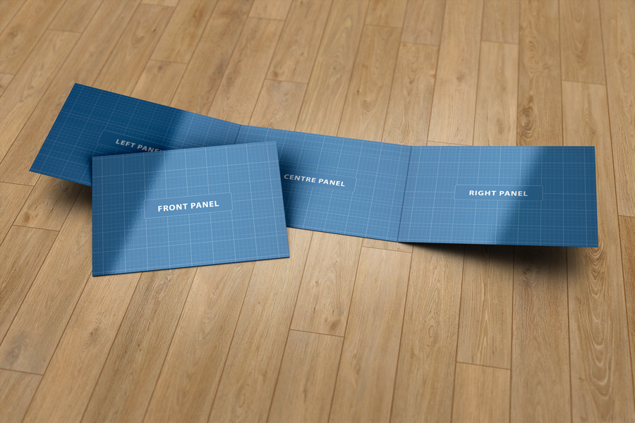 3xa5 Trifold Brochure Mock Up Graphicriver