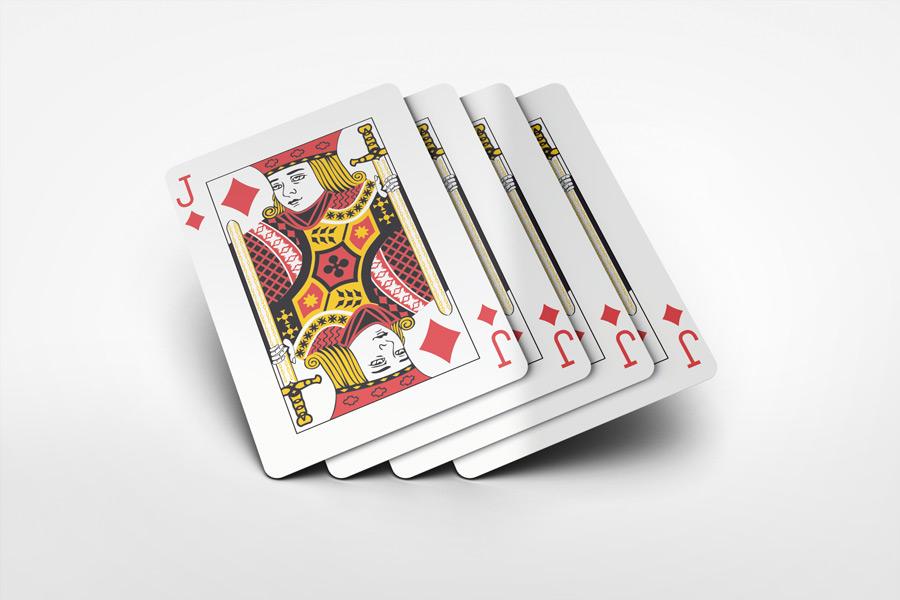 playing cards mock up v2 by. Black Bedroom Furniture Sets. Home Design Ideas
