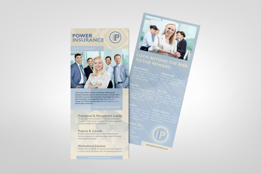 Rack Card Mockup Graphicriver Products Mockup - Rack card template photoshop