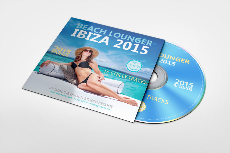 CD Sleeve Mockup