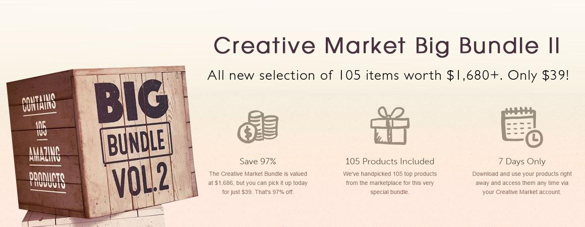 Creative Market Big Bundle II