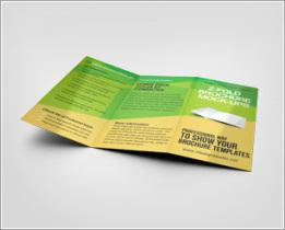 Z-Fold Brochure Mockup