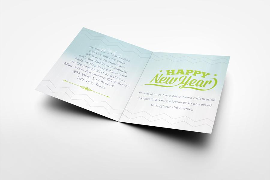 Invitation and Greeting Card Mockup V4