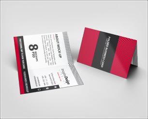 Folded Business Card V2