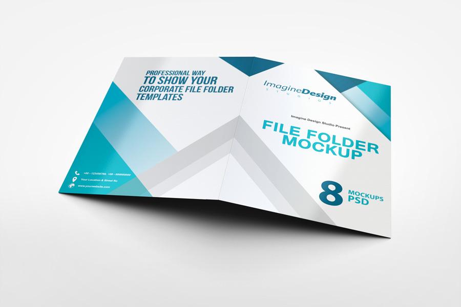 File Folder Mockup