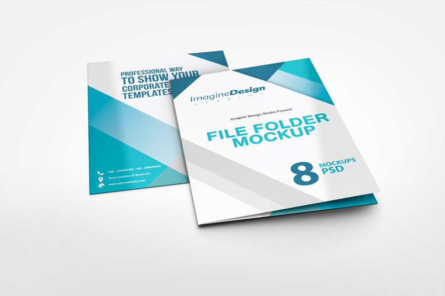 File Folder Mockup By Idesignstudio Net