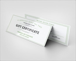 Gift Certificate Mockup download
