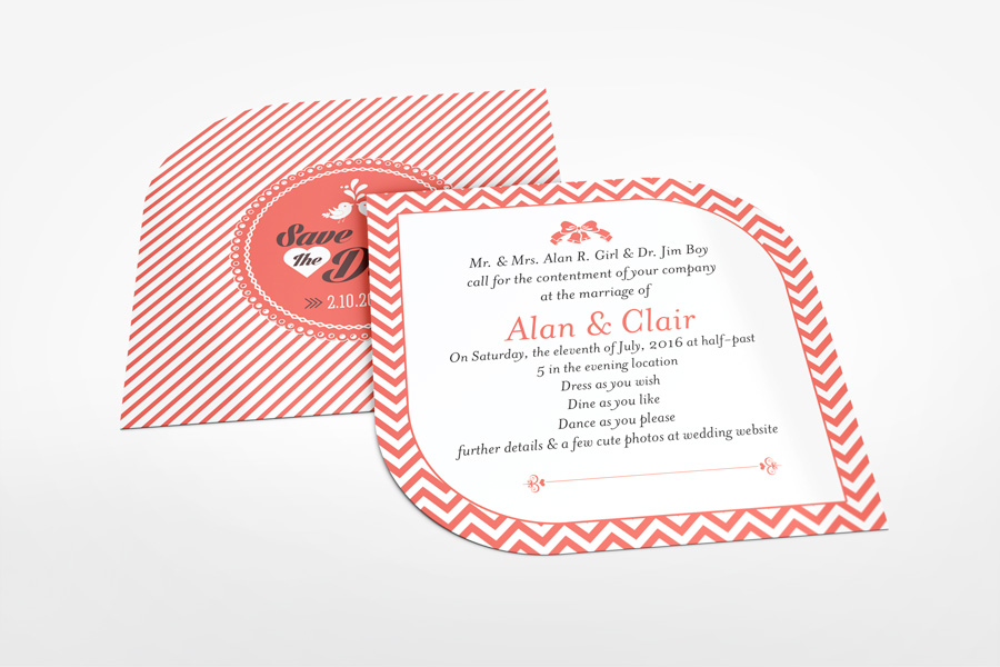Artistic Edge Card Mockup 5x5 inches