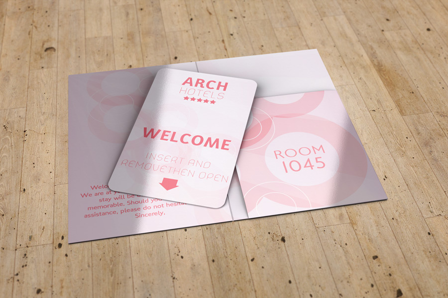 Key Card Holder Mock Up By Idesignstudio Net