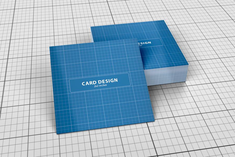 Mini Business Card Mockup   Graphicriver