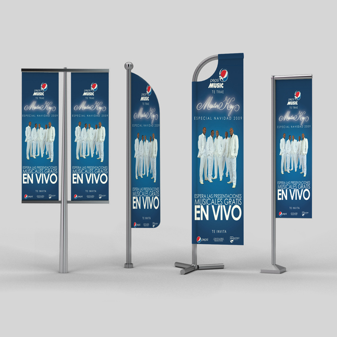 Flag Banner Mock Up Graphicriver Product Mock Ups