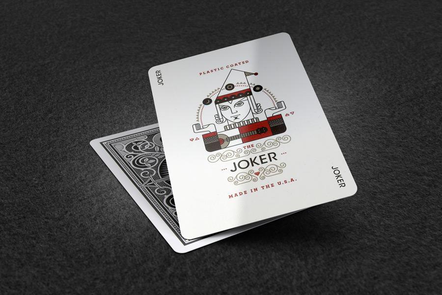 Ideal Colorful Joker Business Card Vignette - Business Card Ideas  VS38